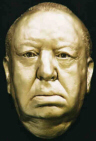 Alfred Hitchcock Sculptured Bust