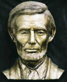 Abraham Lincoln Sculptured Bust