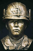 Grunt Tribute  Sculptured Bust Vietnam War